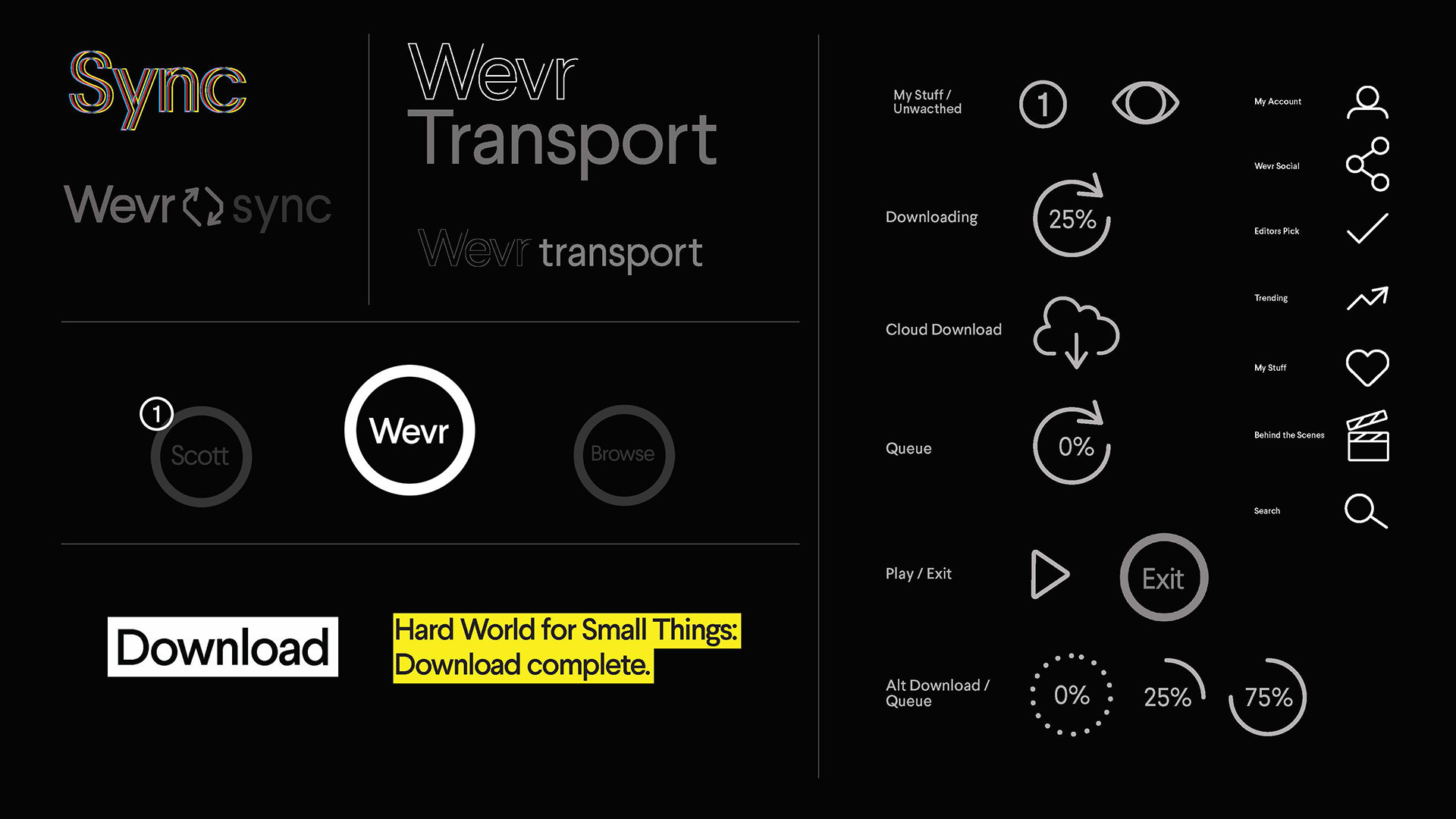 Jessica Lee WEVR TRANSPORT [VR UX/UI, Iconography]